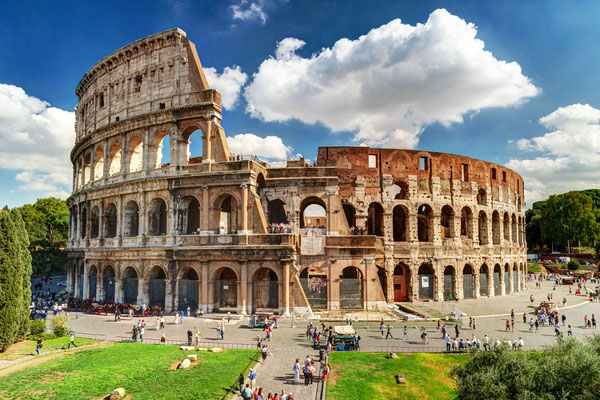 Colosseum in Rome, Italy - Copyright Viacheslav Lopatin