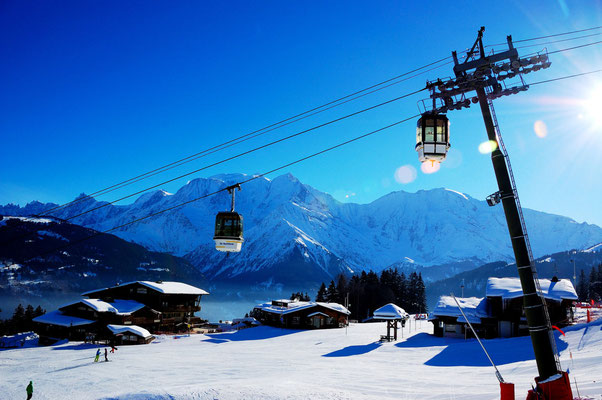Saint-Gervais Mont-Blanc - European Best Ski Resort - Copyright STBMA