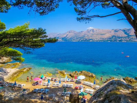 Cavtat beach copyright Diego Fiore