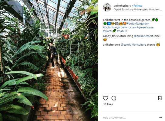 Botanical Garden Wroclaw - Copyright Visit Wroclaw - Instagram User - European Best Destinations