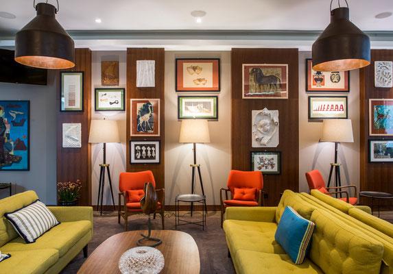 The bar © The Artist Porto Hotel