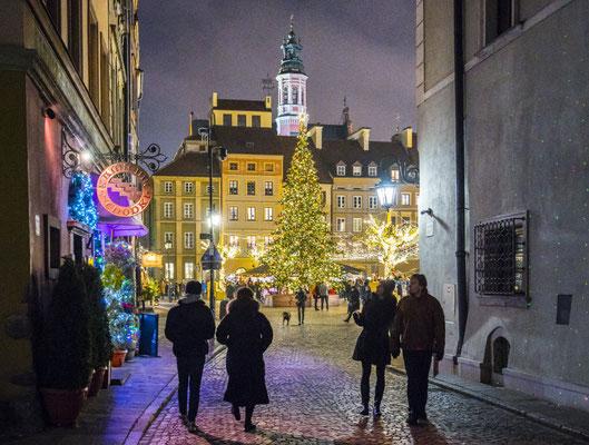 Best Christmas Markets in Europe - Warsaw Christmas Market - F. Kwiatkowski © Warsaw Tourist Office