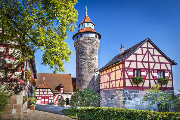 Nuremberg Castle in Nuremberg, Germany. Copyright Sean Pavone