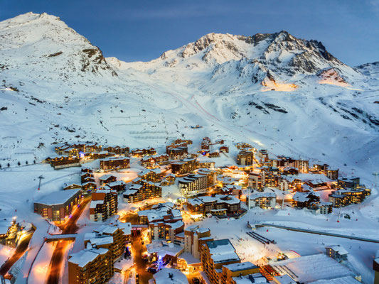 Val Thorens European Best Ski Resorts - Copyright Dave Z