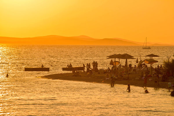 Greeting to the Sun, Zadar Sunset, Croatia by xbrchx