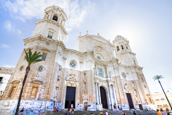 Cathedral of Cadiz. Andalusia, Spain. Copyright David Pegzlz