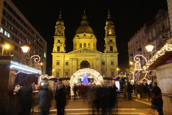 Budapest Christmas Market - Best Christmas breaks - Copyright Advent Feast at the Basilica - European Best Destinations