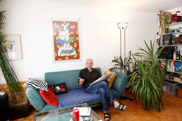 Andi Zai, Sozialarbeiter, Zürich, seit 1974. | Andi Zai szociális munkás, Zürich, 1974-óta.