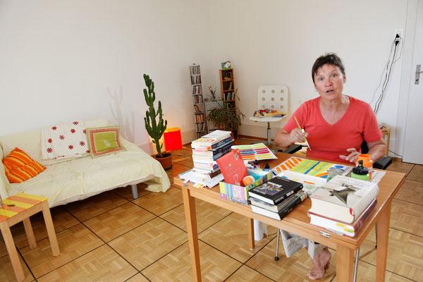 Delia Negri, Hortnerin, Zürich, seit 1980. | Delia Negri napközis nevelő, Zürich, 1980-óta.