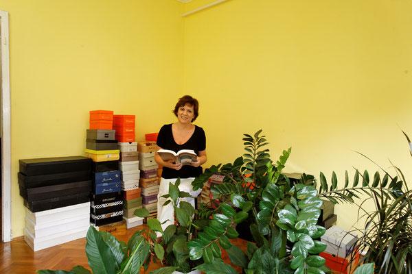 Andrea Alföldi, Historikerin, Budapest, seit 2008. | Alföldi Andrea történész, Budapest, 2008-óta.