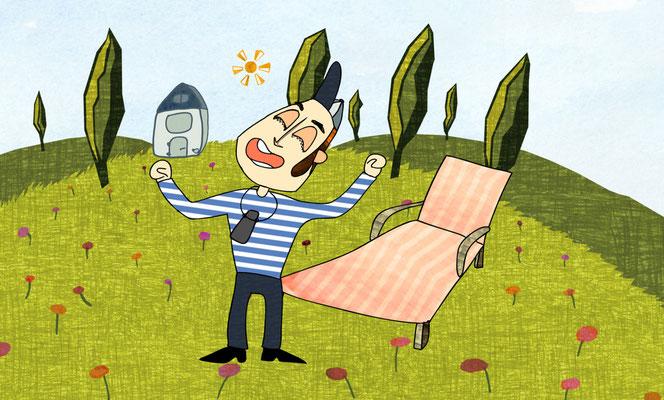 Wenn der Wind dreht, ein Animationsfilm von Elena Madrid