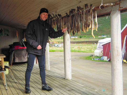 Stockfish beim trocknen