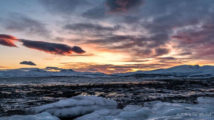 zum Abschluss am Fjord