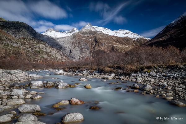 Gletsch mit Galenstock, Obergoms