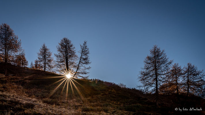 Sonnenaufgang, Simplonpass