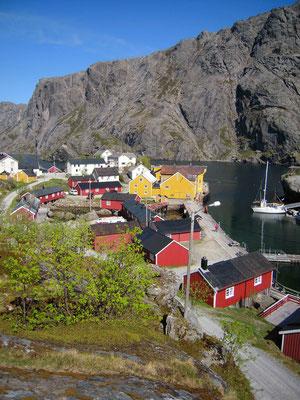 Nusfjord, ein wunderschönes Dörfchen