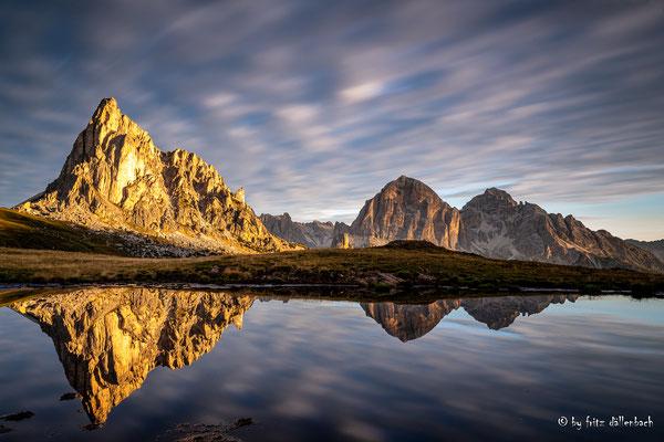 ziehende Wolken, Dolomiten
