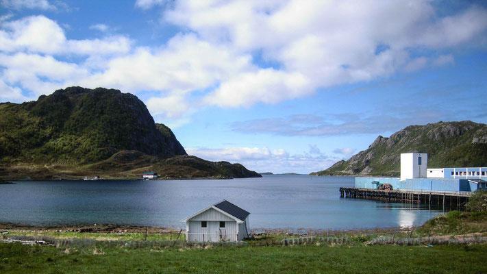 Fischfabrik am Fjord