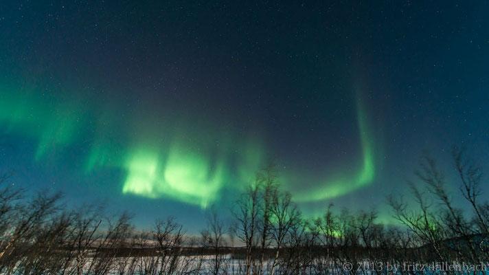 In der Finnmark bei schönstem Mondschein