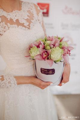 Свадебный фестиваль 2016. Цветы от Татьяны Такаджи и фирмы реал тачь. Один в один живые и можно брать в аренду)