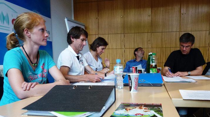 Der Vorstand von Hannover Athletics