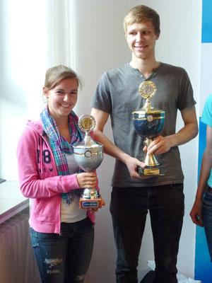 Die Sportler des Jahres 2014: Svenja Pingpank und Alexander Bley
