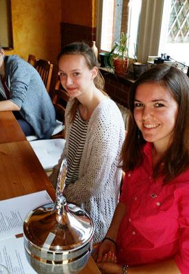 unser Sprint-Ass Klara und unsere Sportlerin des Jahres Svenja