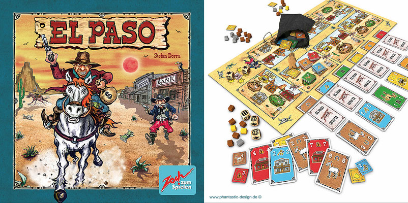 el paso - inks & watercolour - gamedesign
