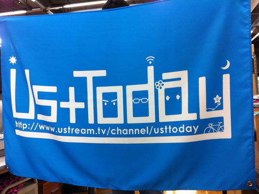 UstToday さま 旗