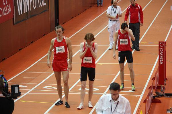 Start 800m Lauf mit Diego