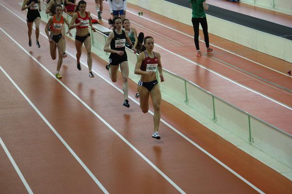 800m Lauf mit Selina