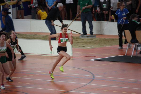 Samira Meier im 60m Lauf