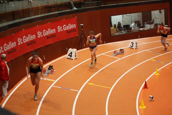 200m Lauf von Sibylle und Ramona