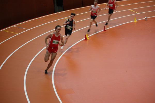 Diego beim 800m Lauf