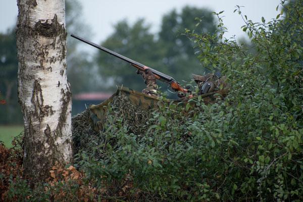 Der Jäger und seine Flinte