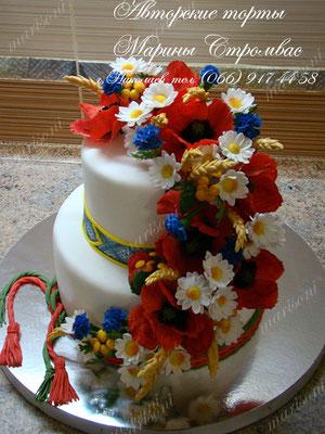 Ромашка торты на заказ фото 1