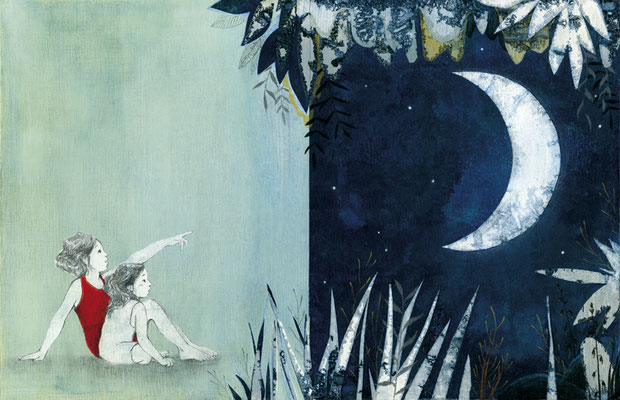 La lune Magda et Lilo