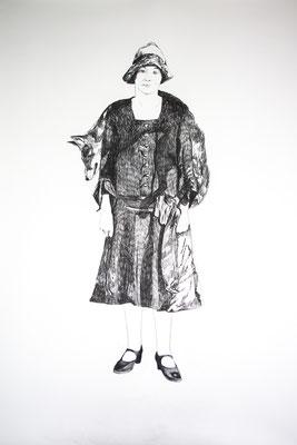 La robe trophée