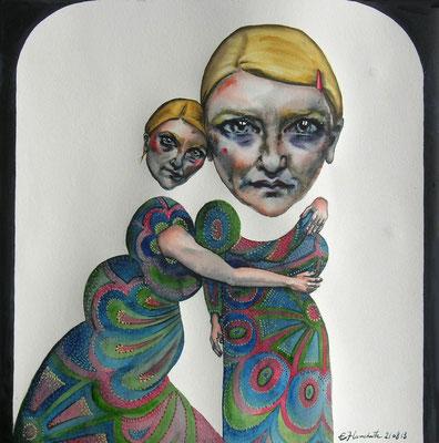 Double autoportrait