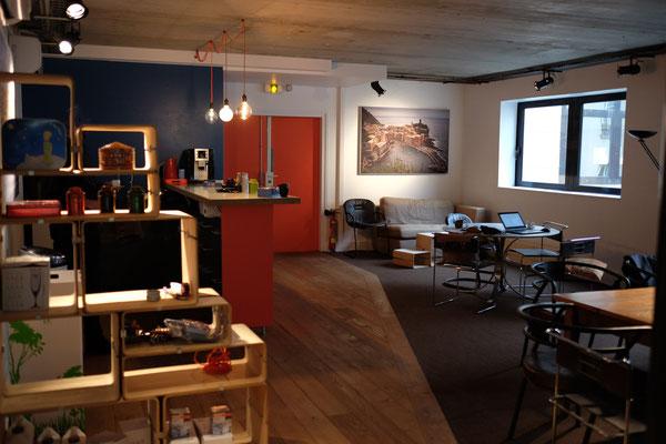 Entrée du Coworking de Montrouge