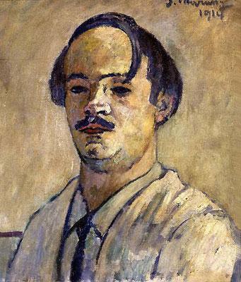 Piero Marussig, Autoritratto, 1914