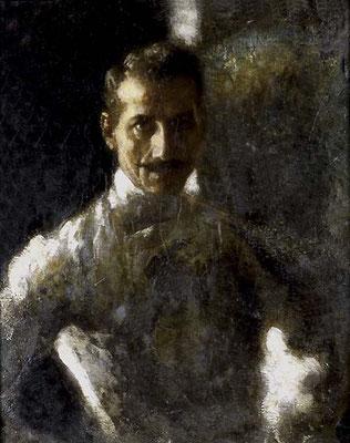 Arturo Rietti, Maestro di scherma (Museo Revoltella)