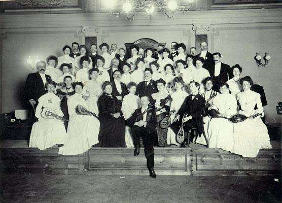 Circolo Mandolinistico, Trieste. Sala Tartini, 1904