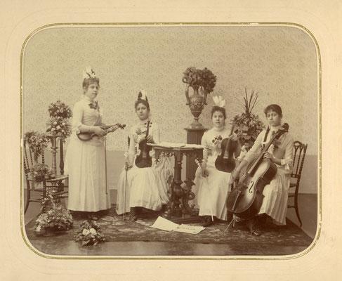 Quartetto delle allieve di Carlo Coronini (1849-1900)