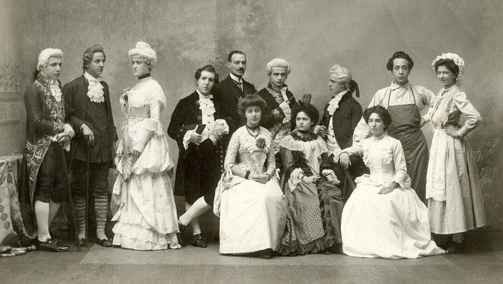 "C. Goldoni ""La casa nova"", 1910"