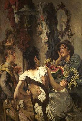 Umberto Veruda, Garanghelo, 1892 (Museo Revoltella)