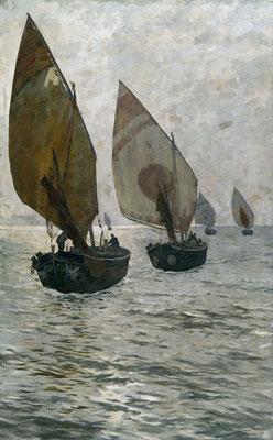 Guido Grimani, Marina, 1895 (Museo Revoltella)