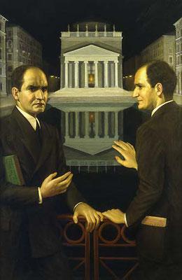 Cesare Sofianopulo, Autoritratto bifronte, 1936