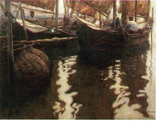 Guido Grimani, Primi albori, 1908 (Museo Revoltella)
