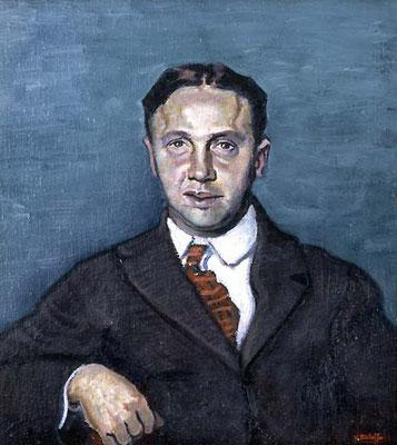 Vittorio Bolaffio, Ritratto del sig. Battilana (Museo Revoltella)